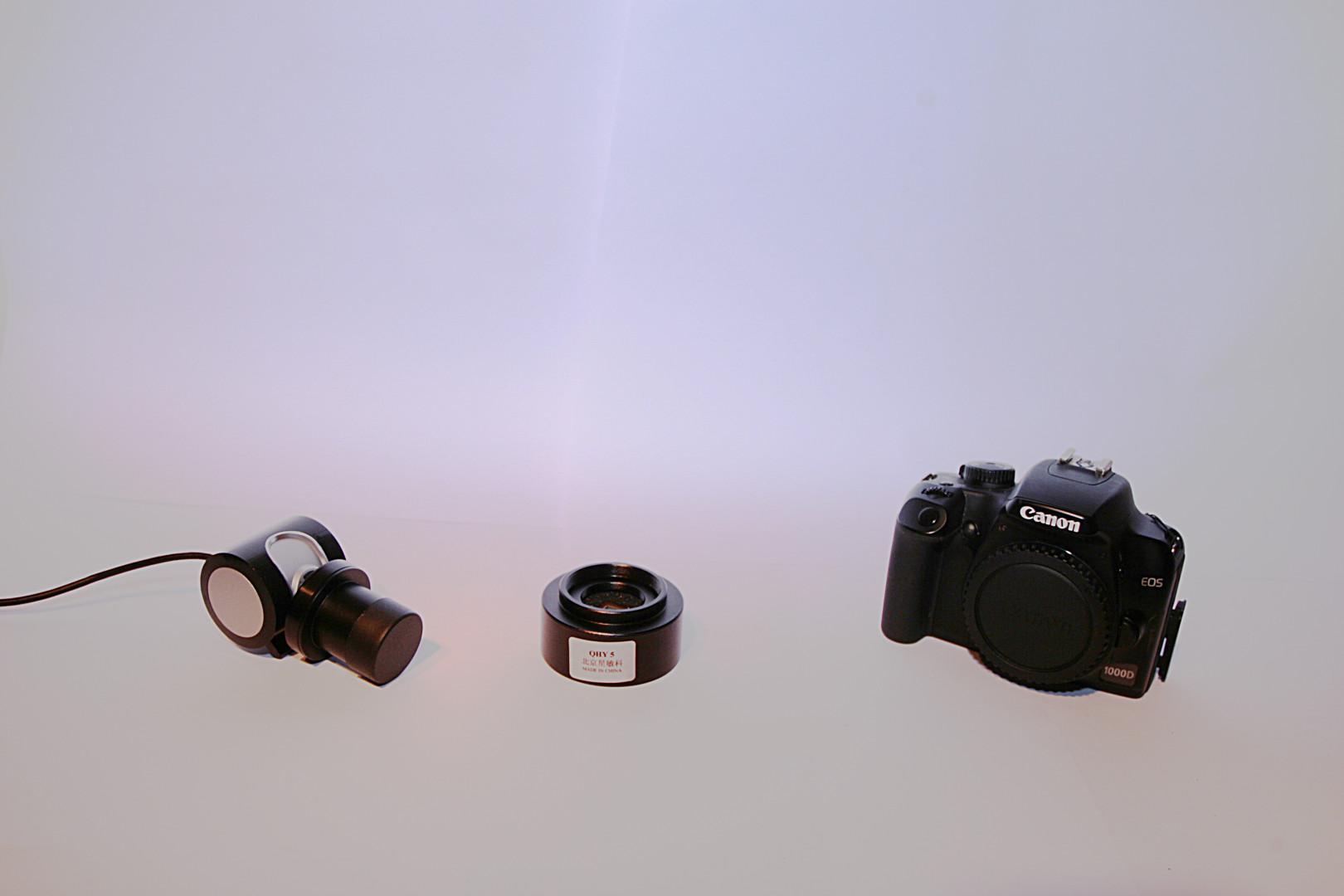 Philips  SPC9000NC vefmyndavél QHY5 myndavél Canon 1000D breytt